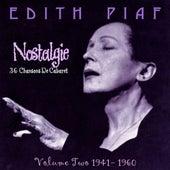 Nostalgie, Vol.2 1941-1960 by Edith Piaf