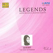 Legends Geeta Dutt Vol 3 by Various Artists