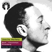 Jascha Heifetz plays Bach, Vieuxtemps & Gruenberg by Various Artists