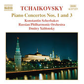 Piano Concertos Nos. 1 and 3 by Pyotr Ilyich Tchaikovsky