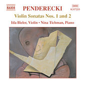 Violin Sonatas nos. 1 and 2 by Krzysztof Penderecki