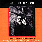 Fareed Haque Plays Classical Guitar by Various Artists
