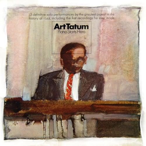 Piano Starts Here by Art Tatum