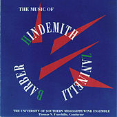 The Music of Hindemith, Zaninelli, and Barber by The University of Southern Mississippi Wind Ensemble