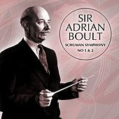 Schuman Symphony No 1 & 2 by Sir Adrian Boult