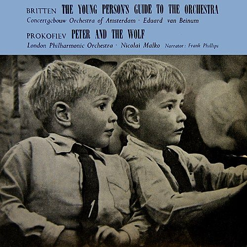 Britten: Young Person's Guide To The Orchestra And Prokiev: Peter And The Wolf by Various Artists