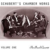 Schubert's Chamber Works Volume 1 by Busch Quartet