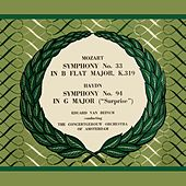 Wolfgang Amadeus Mozart Symphony No. 33 and Josef Haydn Symphony No. 94 'Surprise' by Concertgebouw Orchestra of Amsterdam