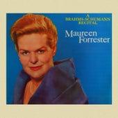 A Brahms-Schumann Recital by Maureen Forrester