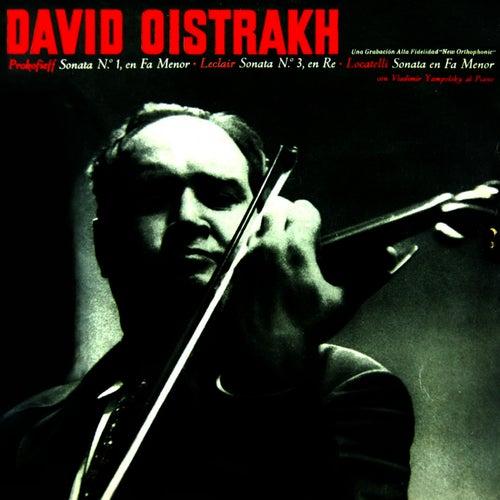 Prokofieff Sonata No 1 In F Minor, Op. 80 by David Oistrakh