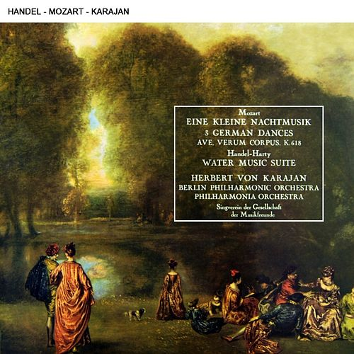 Herbert Von Karajan Conducting Music By Mozart & Handel by Various Artists