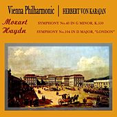 Mozart Symphony No. 40 by Vienna Philharmonic Orchestra
