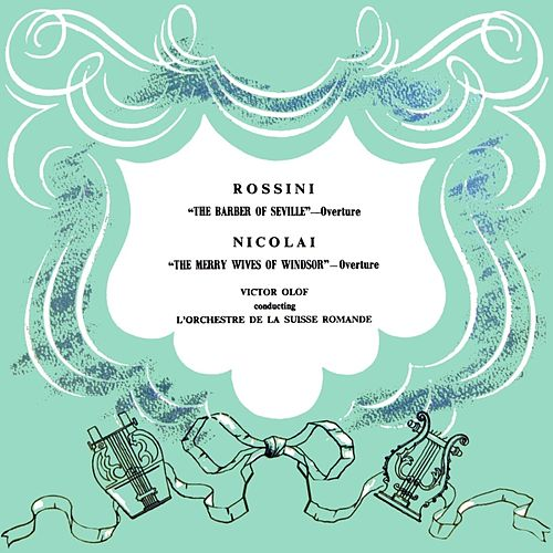 The Barber Of Seville / The Merry Wives Of Windsor by L'Orchestra de la Suisse Romande