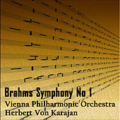 Brahms Symphony No 1 by Vienna Philharmonic Orchestra