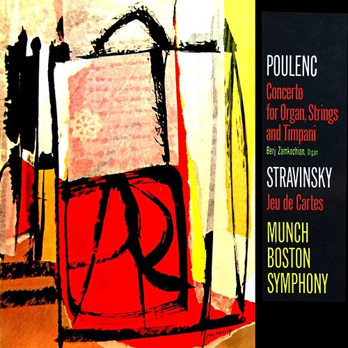 Poulenc Concerto For Organ by Boston Symphony Orchestra