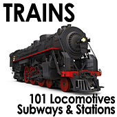 Trains - 101 Locomotives, Subways & Stations by Dr. Sound Effects SPAM
