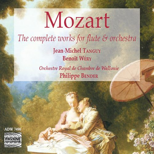 Mozart: The Complete Works for Flute & Orchestra by Jean-Michel Tanguy