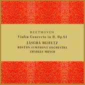 Beethoven Violin Concerto In D by Jascha Heifetz