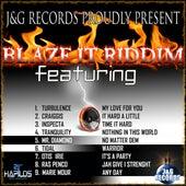 Blaze It Up Riddim by Various Artists