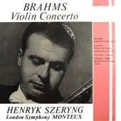 Brahms Violin Concerto by Henryk Szeryng