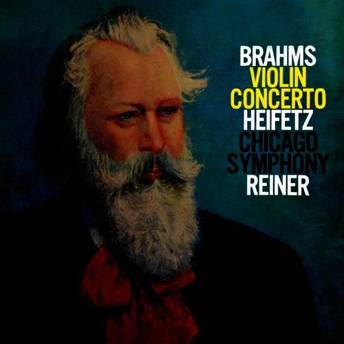 Brahms Concerto In D by Jascha Heifetz