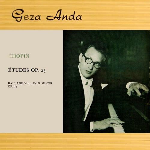 Chopin Etudes Op.25 by Geza Anda