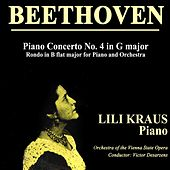 Beethoven Concerto No. 4 In G Major, Op. 58 by Lili Kraus