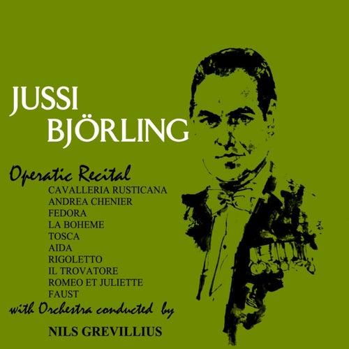 Operatic Recital by Jussi Björling