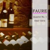 Faure Quartet No. 1 by Emil Gilels