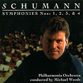 Schumann Symphonies 1-4 by Philharmonia Orchestra