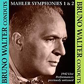 Bruno Walter conducts Mahler Symphonies Nos. 1 & 2 by Various Artists