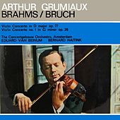 Brahms/Bruch by Concertgebouw Orchestra of Amsterdam