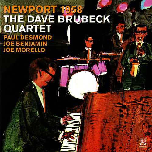 Newport 1958 by Dave Brubeck