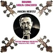 Brahms Violin Concerto by Jascha Heifetz