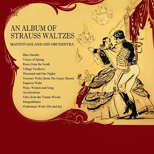 An Album Of Strauss Waltzes by Mantovani & His Orchestra