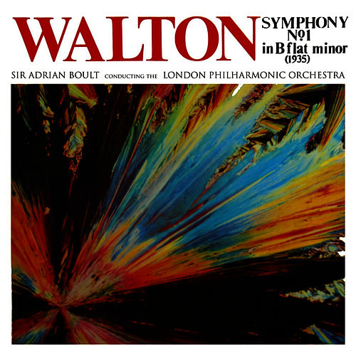 Walton Symohpny No 1 by London Philharmonic Orchestra
