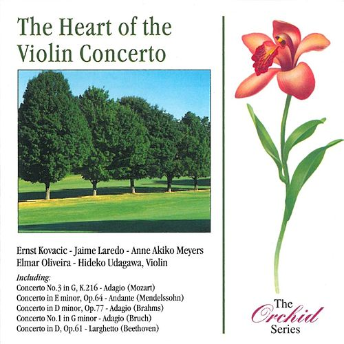 The Heart Of The Violin Concerto by Various Artists