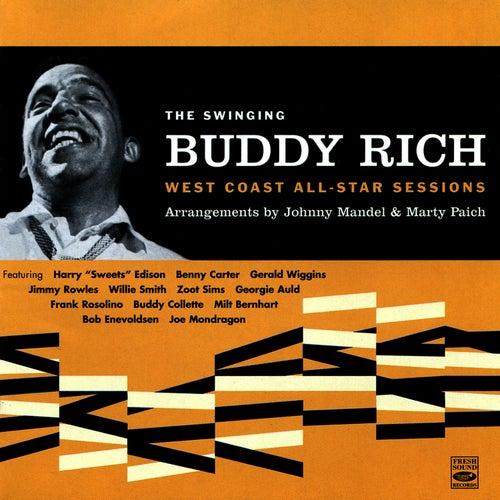 The Swinging Buddy Rich: West Coast All-Star Sessions by Buddy Rich