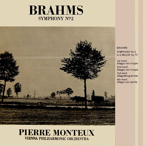 Brahms Symphony No. 2 by Vienna Philharmonic Orchestra