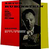 Brahms Piano Concerto No. 1 In D Minor by Artur Rubinstein