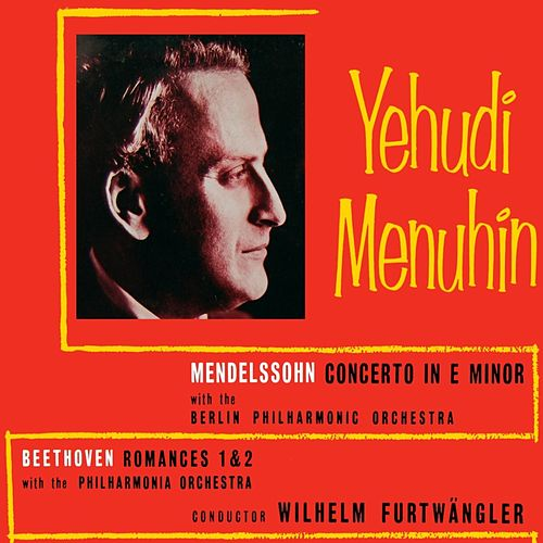 Mendelssohn Concerto In E Minor by Philharmonia Orchestra