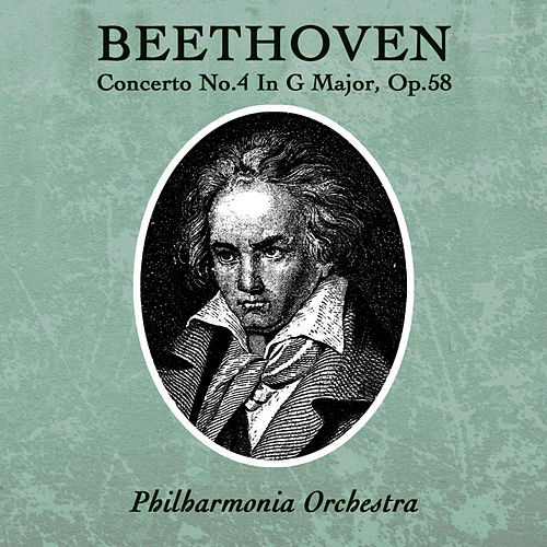 Beethoven - Concerto No.4 In G-Major, Op.58 by Philharmonia Orchestra