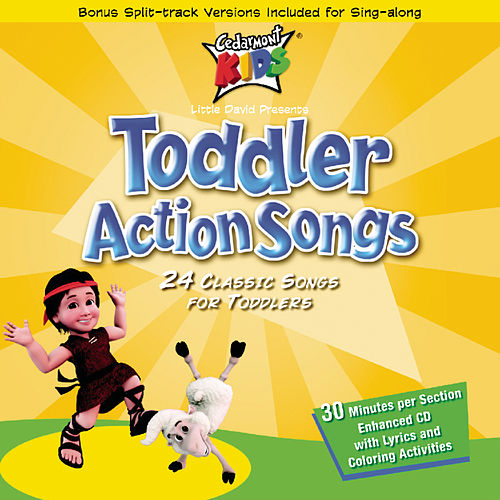 Toddler Action Songs by Cedarmont Kids