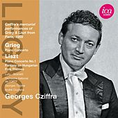 Grieg: Piano Concerto - Liszt: Piano Concerto No. 1 by Gyorgy Cziffra