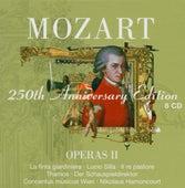 Mozart : Operas Vol.2 [La finta giardiniera, Lucio Silla, Il re pastore, Thamos, Der Schauspieldirektor] by Nikolaus Harnoncourt