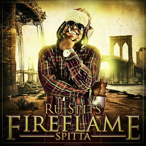 Fire Flame Spitta by Ru Spits
