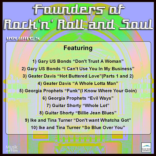Founders of Rock 'n' Roll and Soul, Vol. 4 by Various Artists