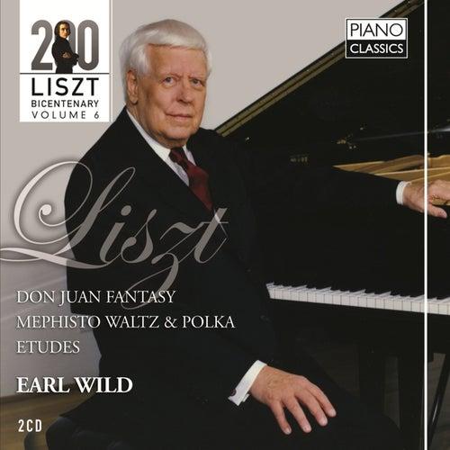Liszt Don Juan Fantasy, Mephisto Waltz & Polka, Etudes by Earl Wild