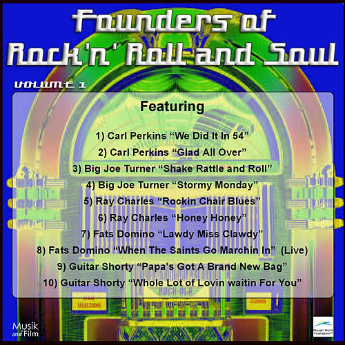 Founders of Rock 'n' Roll and Soul by Various Artists