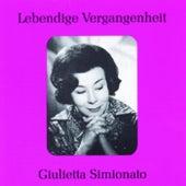 Lebendige Vergangenheit - Giulietta Simionato by Giulietta Simionato